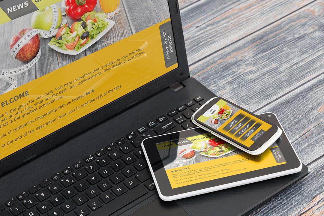 Responsive Design Website marketingagentur.ch