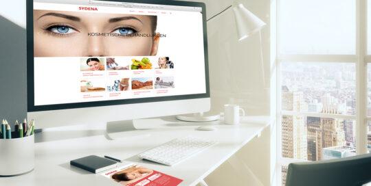 Sydena - Gesundheitsmassage und Kosmetik, Diagonal, marketingagentur.ch