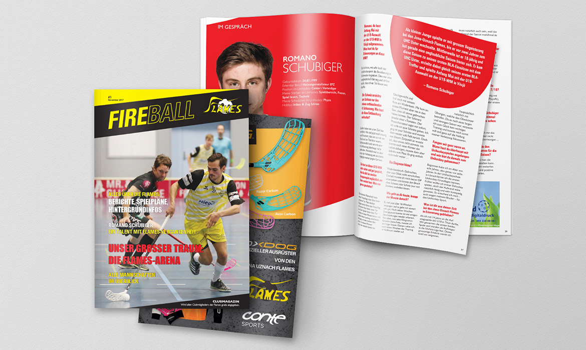 Flames – Magazin «Fireball»