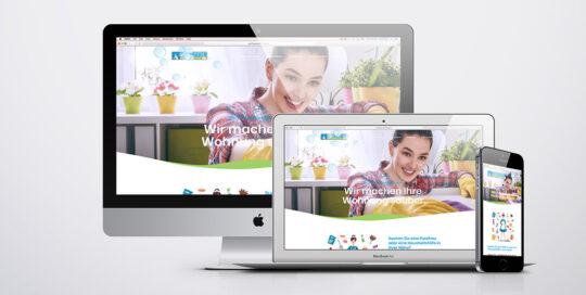 Putzfrauenvermitlung, diagonal, marketingagentur.ch