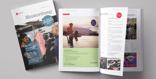 WIr-Messezeitung 2018, wmzag, diagonal, marketingagentur.ch