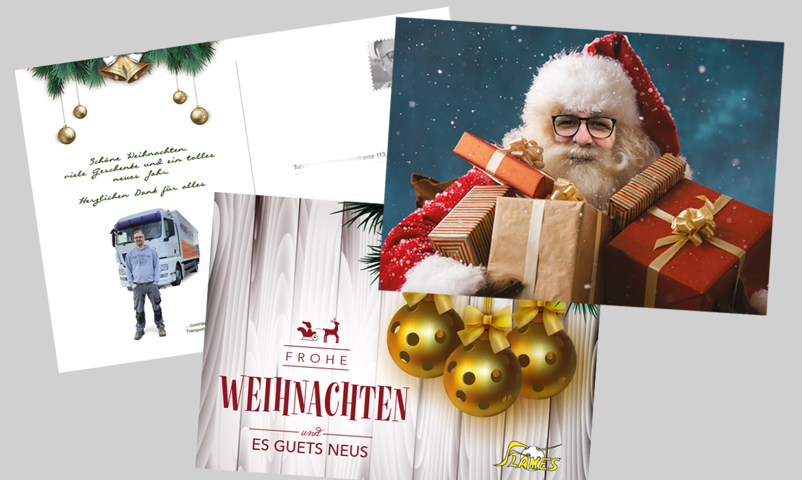 Weihnachtskarte, Grusskarte, diagonal, marketingagentur.ch